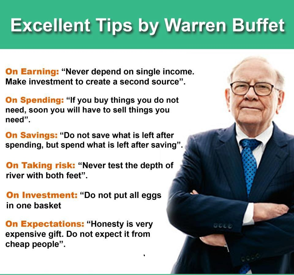 Quests from Warren Buffet