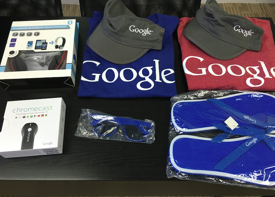 So many things in Google box