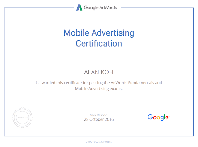 mobile-advertising-certification