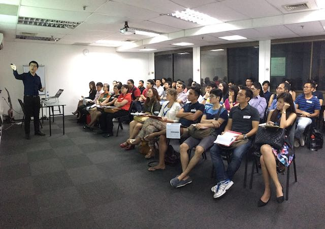 Full house in our training centre